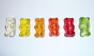 Decorative image of gummi bear sweets